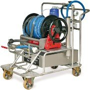 Water supply trolley